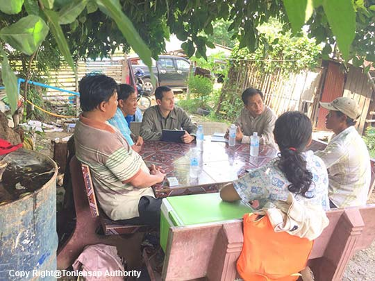 Activity Research on Aquaculture in Banteay Meanchey Province