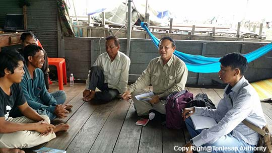 Research  Activities on Inventory List of Fisheries Conservation Areas in Battambong Province